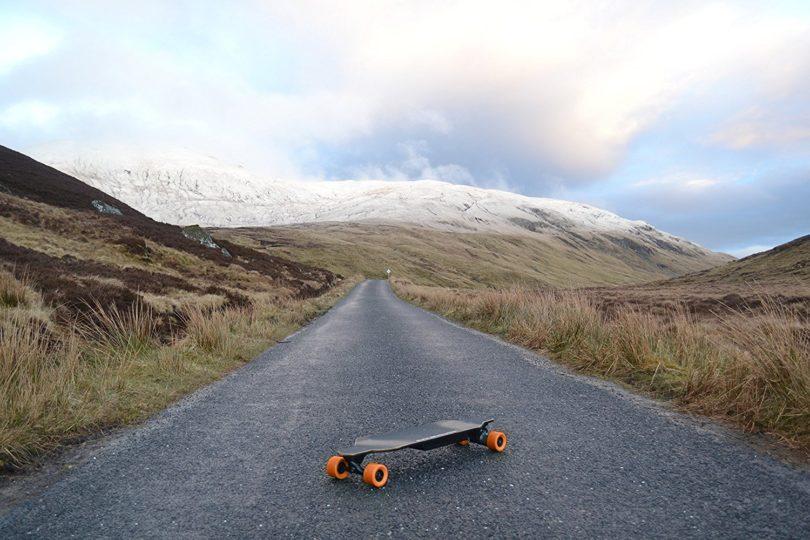 Longboard électriques Eboard en situation
