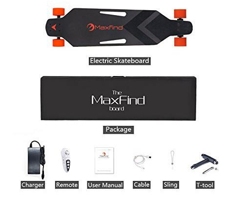 MAXFIND Skate électrique unboxing