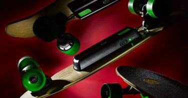 Ridge Electric Model EL1 Electric Skateboard électrique design