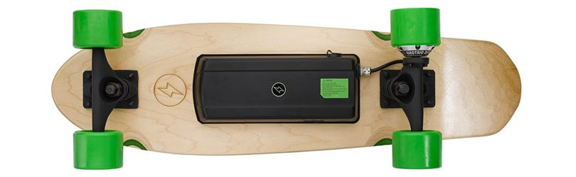 Ridge Electric Model EL1 Electric Skateboard électrique dessous