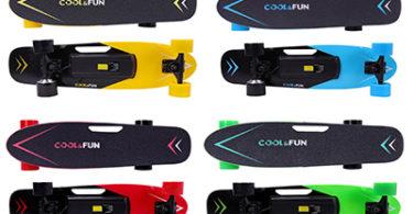 Cool & Fun Planche à Roulettes Motorisée Électrique