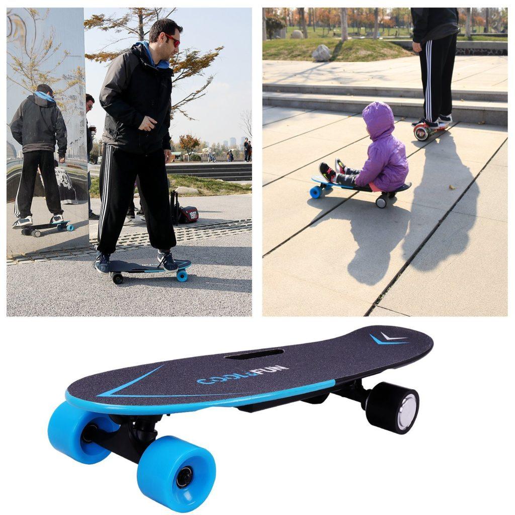 Cool & Fun Planche à Roulettes Motorisée Électrique utilisation