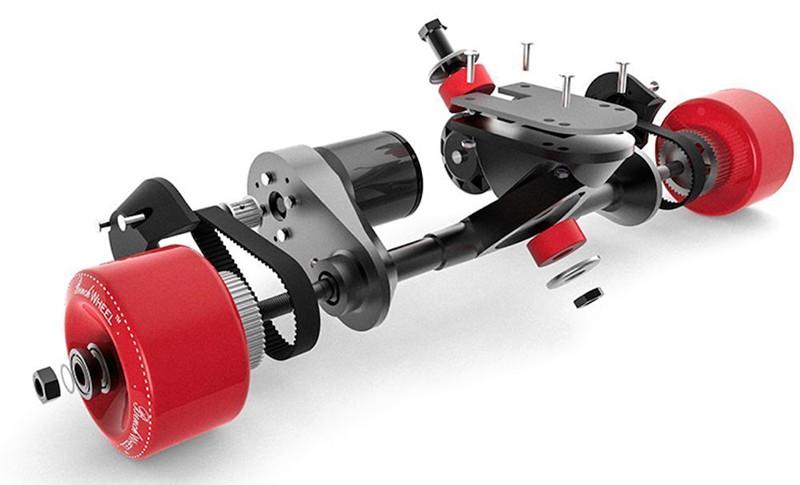 benchwheel Double Skateboard électrique 1800 W B2 moteur