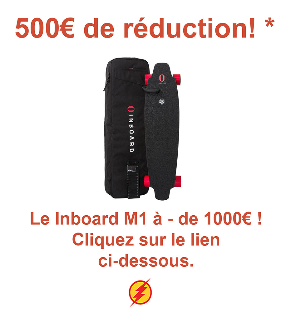 Promotion Inboard M1 Longboard skateboard électrique pas cher
