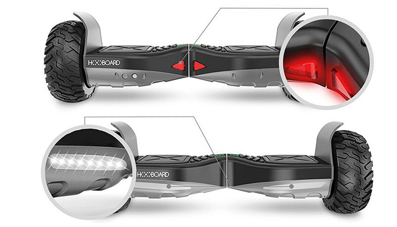 Hooboard - Premier Tout-terrain Smart Hoverboard Features