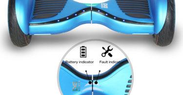 HoverBoardSkateboardG yropode Éléctrique Auto-équilibrage Bluetooth Scooter Trottinette Électrique 10 Pouces Pneu Gonflable