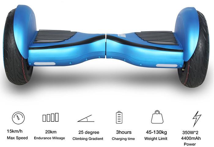 HoverBoardSkateboardGyropode Éléctrique Auto-équilibrage Bluetooth Scooter Trottinette Électrique 10 Pouces