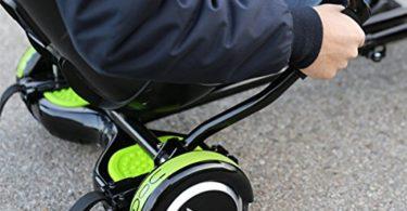NILOX Doc Kart pour Hoverboard, accessoire pour Gyropode Électrique Skateboard Auto-équilibrage, Noi