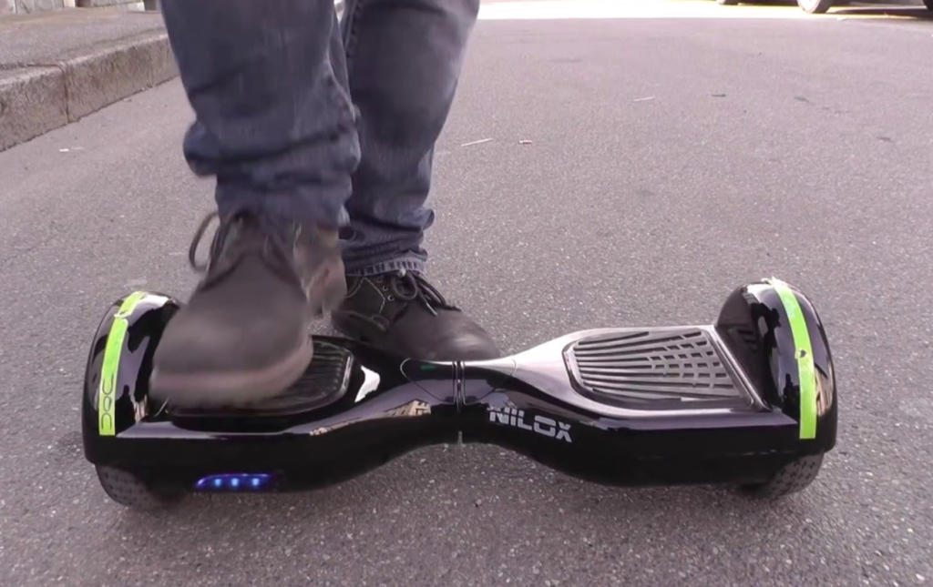 NILOX Hoverboard Doc Plus UL 2272 en test