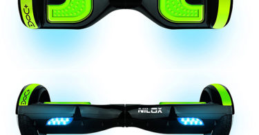 NILOX Hoverboard Doc Plus UL 2272 phares et adhérence