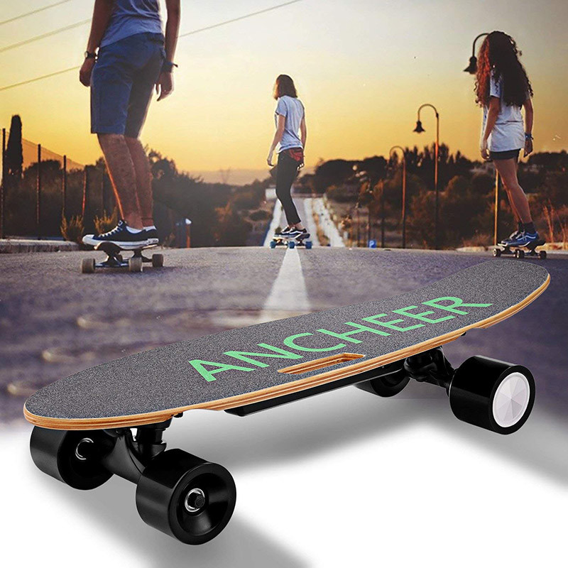 Ancheer Skateboard Electrique Mini Planche