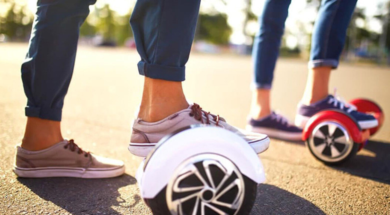 Comment monter sur un Hoverboard?