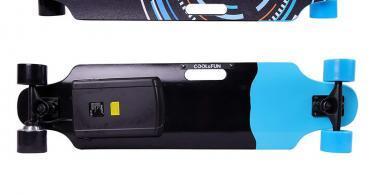 Cool&Fun HB11 Planche à Roulettes Motorisée Électrique avec Télécommande - couleur Keji