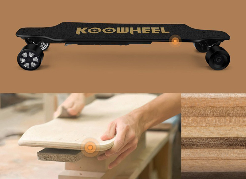 KOOWHEEL Longboard Électrique