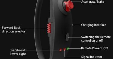 KOOWHEEL Skateboard Électrique kooboard, bracelet de télécommande