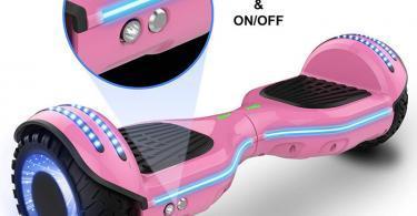 COLORWAY Balance Board Bluetooth 6,5 Pouces Gyropode LED Révolution