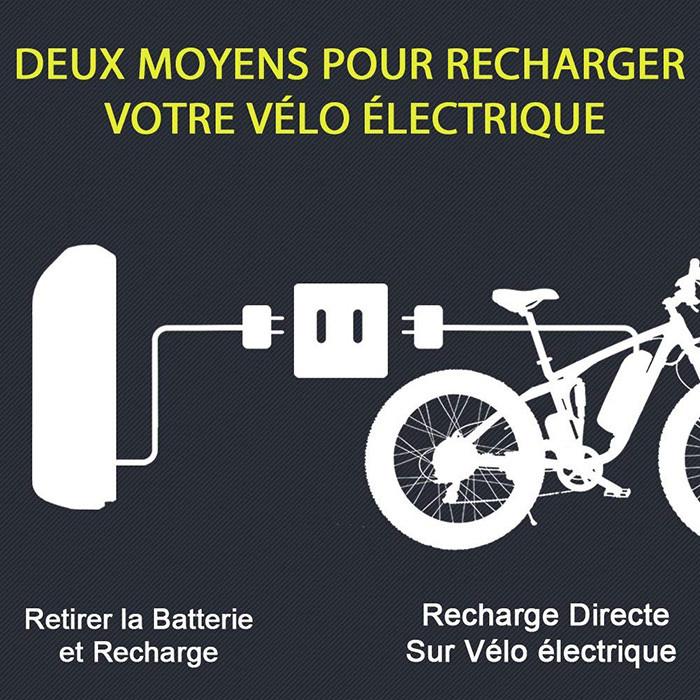 Extrbici VTT Vélo électrique Hybride - Homme de Montagne - XF800