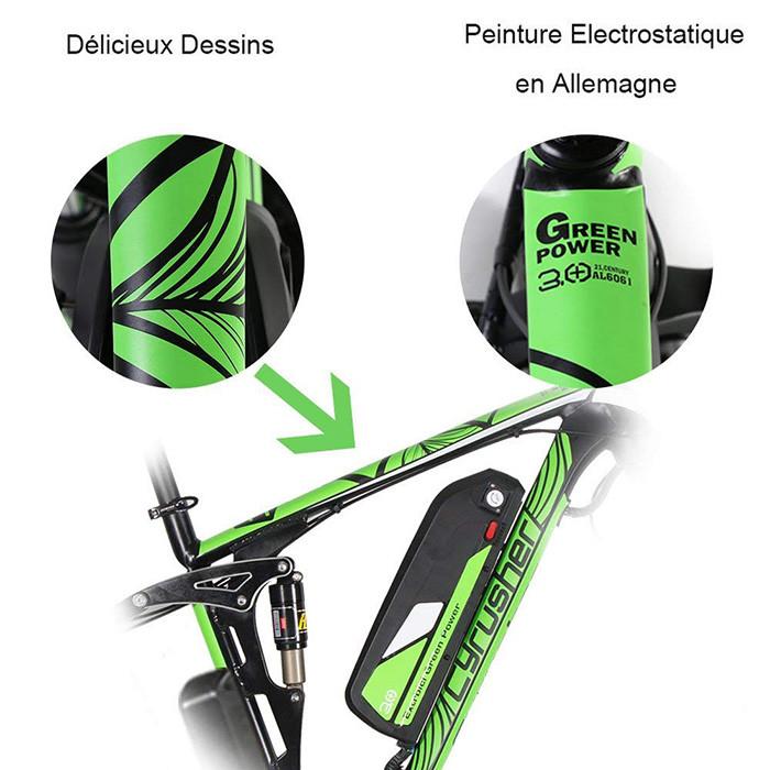 Extrbici VTT Vélo électrique Hybride