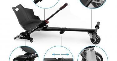 Hovercart Scooter Seat Accédez à l'accessoire de Support réglable Kart