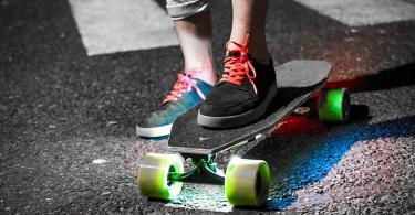 ACTON Blink S - Skateboard Électrique LED