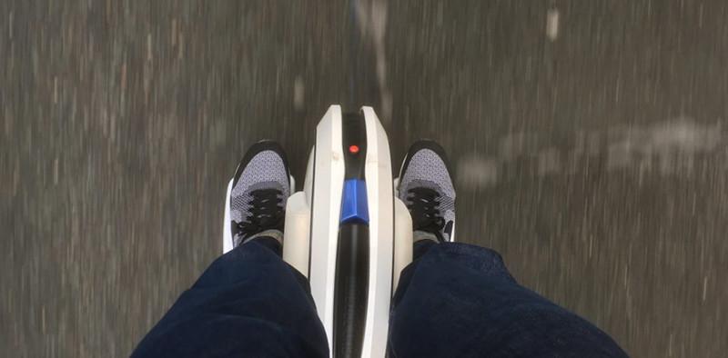 La roue d'une gyroroue