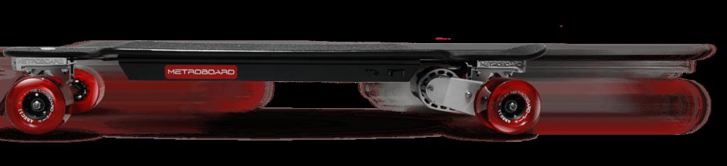 vitesse de parcours d'un longboard électrique