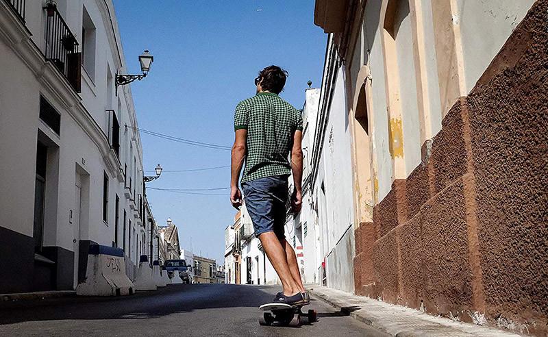 RIVERSON Skateboard électrique Français Carbone Léger Puissant Performant Robuste