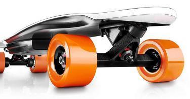 RIVERSON Skateboard électrique Française Carbone Léger Puissant Performant Robuste