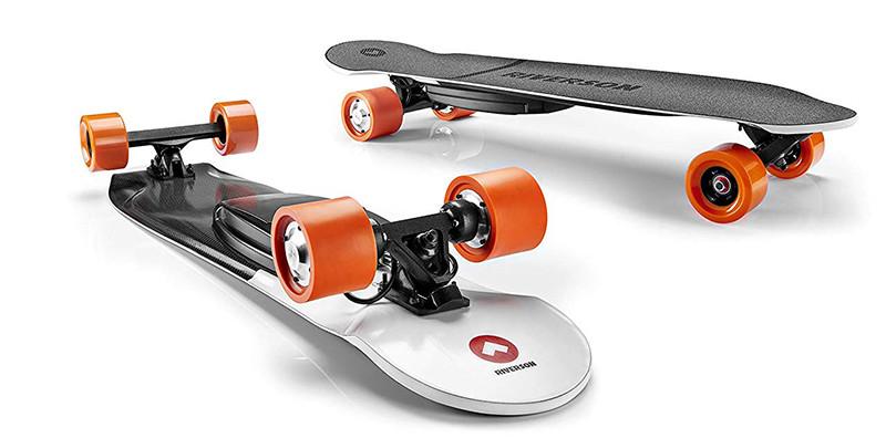 RIVERSON Skateboard électrique Française en Carbone Léger Puissant Performant Robuste