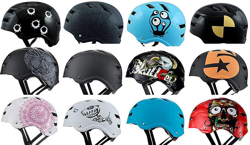 Skullcap® Casque Skate - Casque Velo
