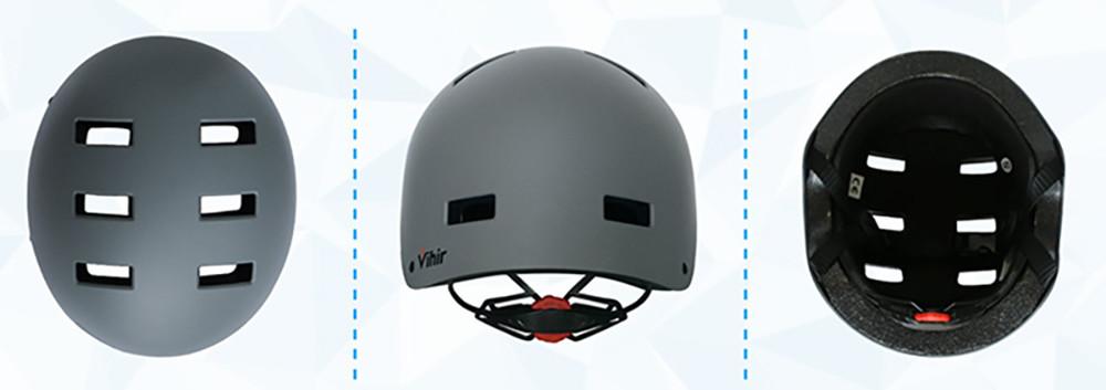 Vihir Casque de Cyclisme Casques de Vélo ABS Protections de Réglable