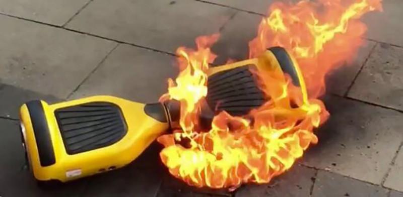 Comment éviter qu'un Hoverboard prenne feu?
