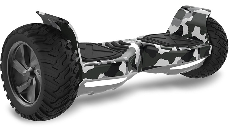 Double Hunter Hoverboard Tout Terrains 8.5 Pouces, Gyropode SUV Tout-Terrain 2x350W