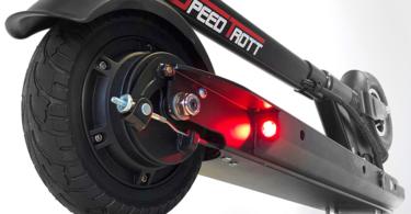 Speedtrot ST12 Trottinette électrique Mixte Adulte - Arrière