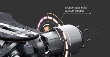Teamgee H5 Longboard Électrique - Moteurs Doubles 780W