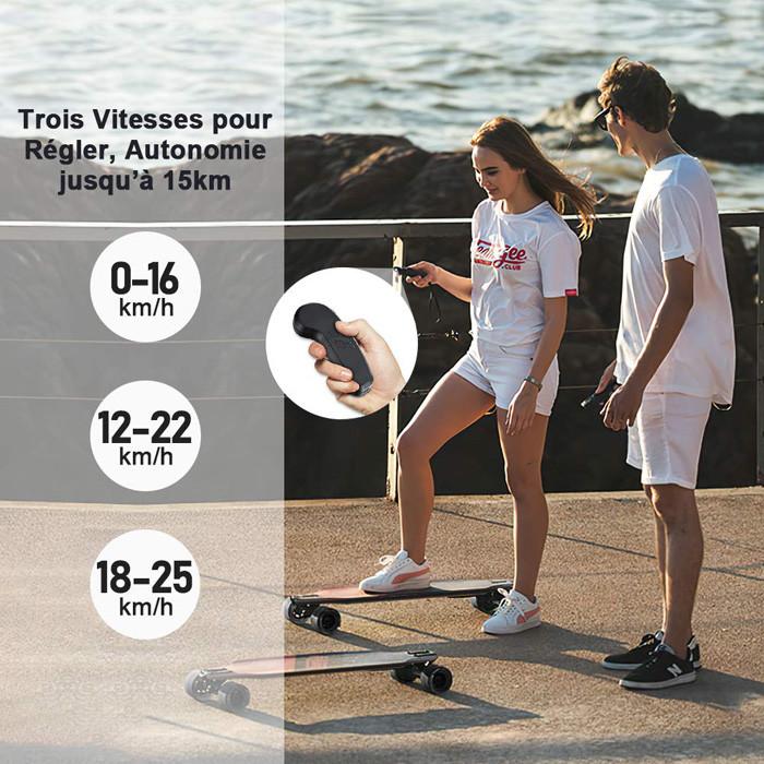Comparatif Teamgee H8 Skateboard Électrique