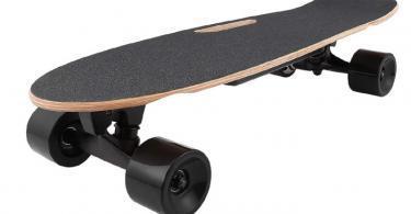 Hiriyt Skateboard Électrique Longboard Planche à roulettes électrique