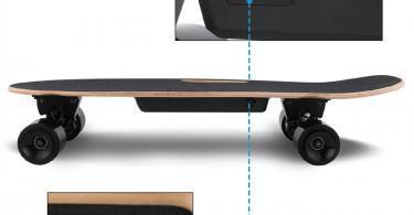 Hiriyt Skateboard Électrique Longboard Planche à roulettes
