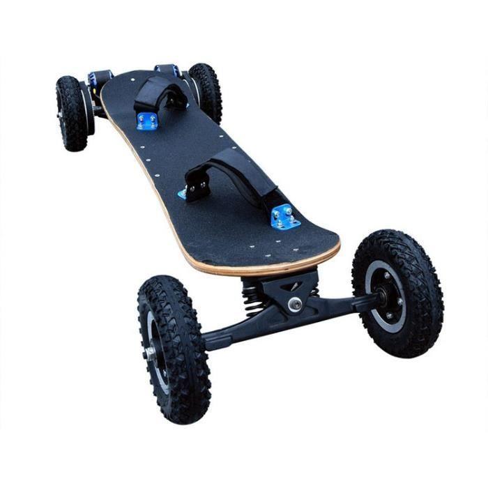 Kbale Skateboard Electrique 8 Cross Tout Terrains Double Moteurs 3300W