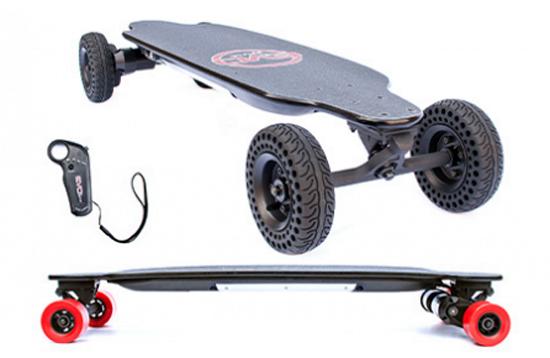 Skate et longboard electrique de la marque française Evo-Spirit