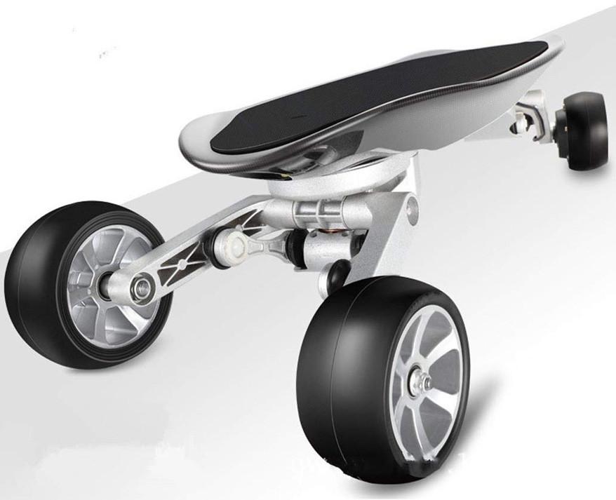 Test Comparatif Wu's Skateboard Électrique Aux Quatre Roues