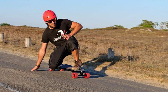 Test Evo-spirit Skate électrique Curve V3
