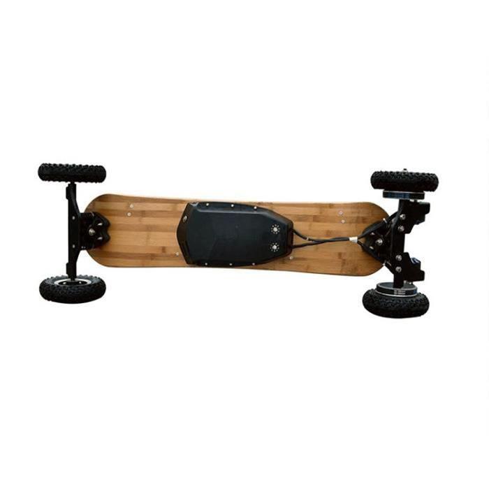 Test Kbale Skateboard Electrique 8 Cross Tout Terrains Double Moteurs 3300W