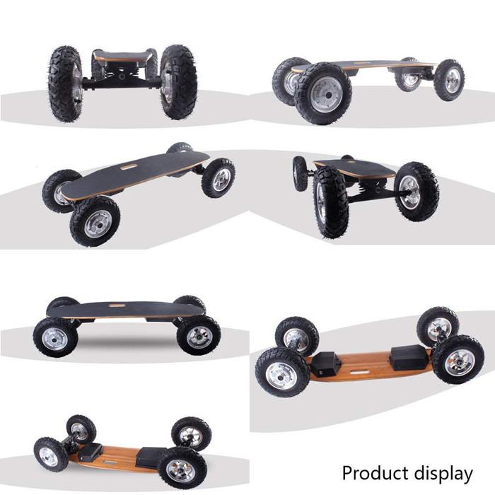 Avis sur le TIKENBST Skateboard électrique Tout-Terrain Intelligent Télécommande sans Fil