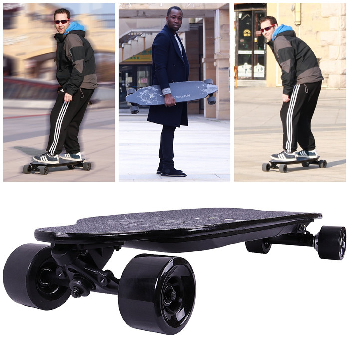 MARKBOARD Longboard Skateboard Électrique 4 Roues
