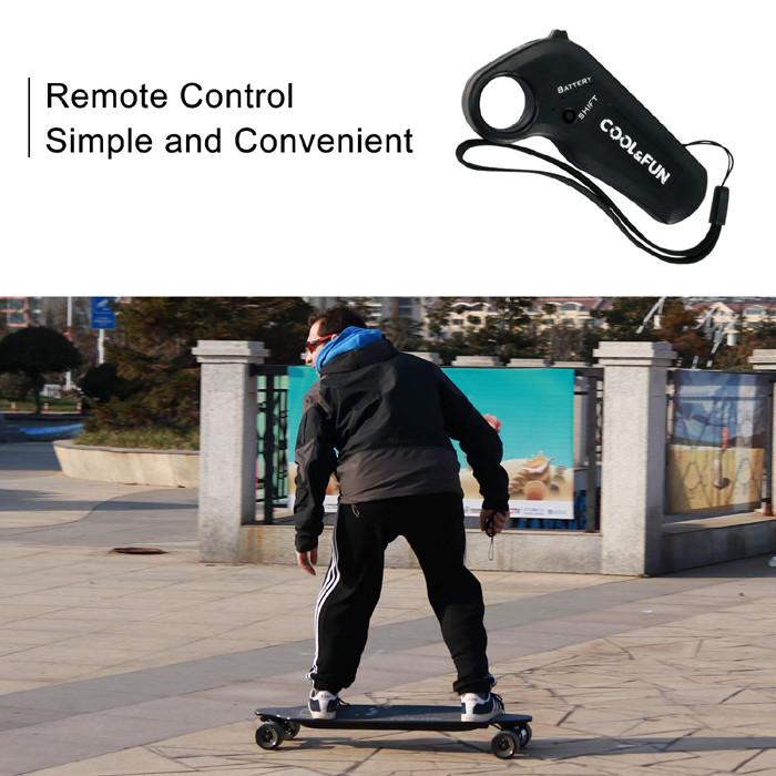 Test Avis skate RCB - Longboard Skateboard Électrique avec télécommande