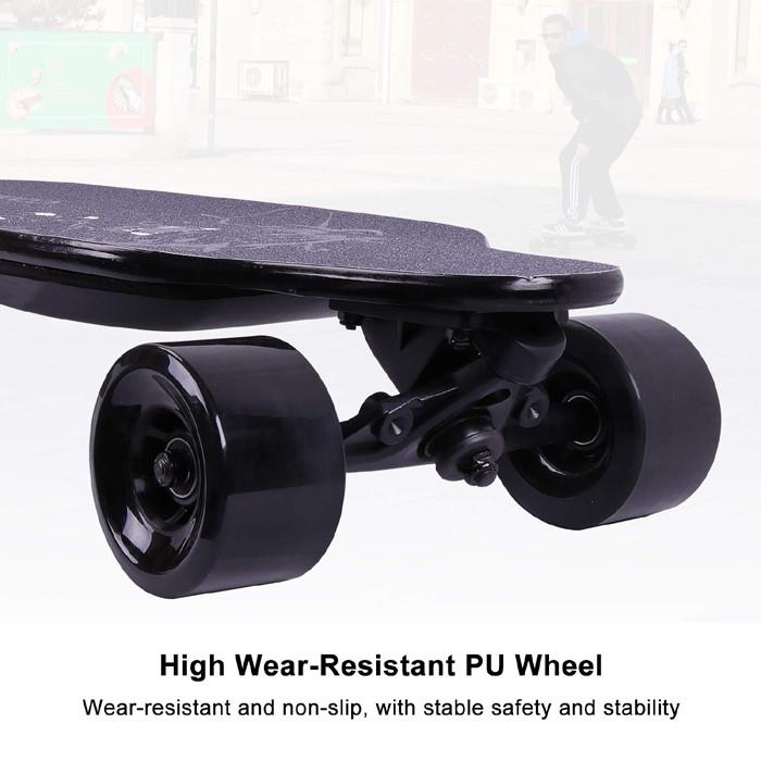 Test et Avis MARKBOARD Longboard Skateboard Électrique 4 Roues