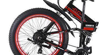 Test GUNAI Vélo de Montagne électrique Pliant