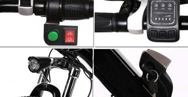 Test Laiozyen Vélo Electrique 26 e-Bike VTT Pliant 36V 250W