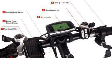 Test du vélo électrique RICH BIT RT-860